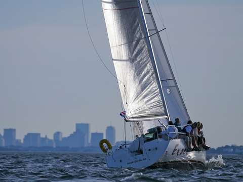 Exocet makes her way to boston