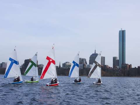 College Sailing in Boston
