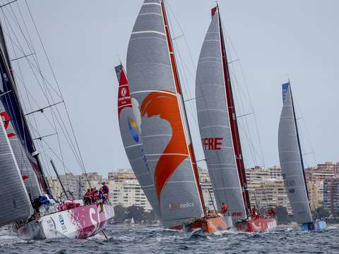 Ocean racing in alicante spain