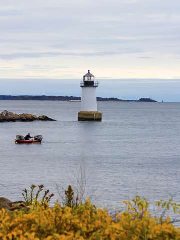 Masschusetts lighthouse in salem