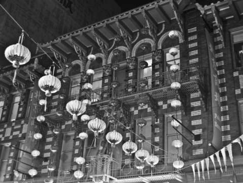 Chinatown lanterns san francisco