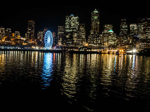 Seattle by ferry light