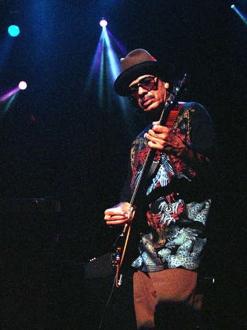Santana at great woods