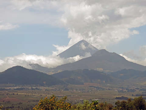 Mountains in guatemala