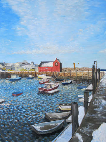 Winter Light on Motif 1