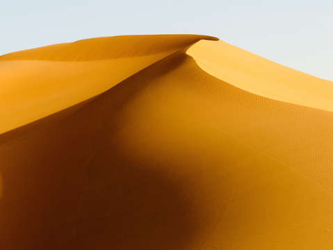 Saharan sunrise