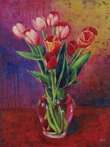 Table for tulips 2