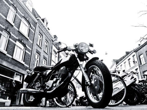 Maastricht motorcycle