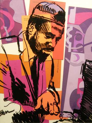 Thelonious monk purple and orange