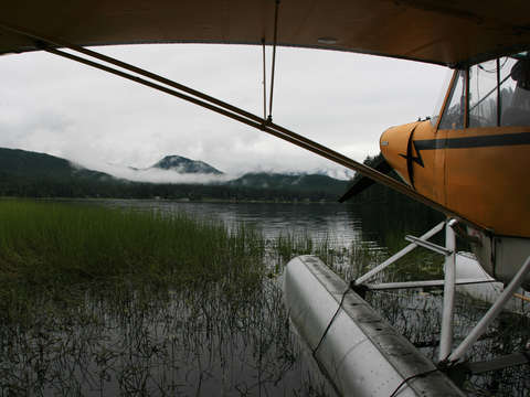 Seaplane in juneau