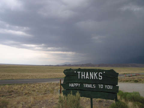 Thanks and Happy Trails