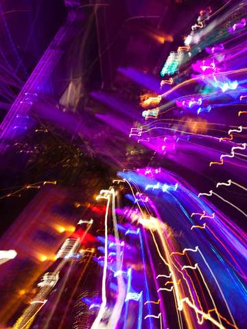 Hot lights in singapore purple 4