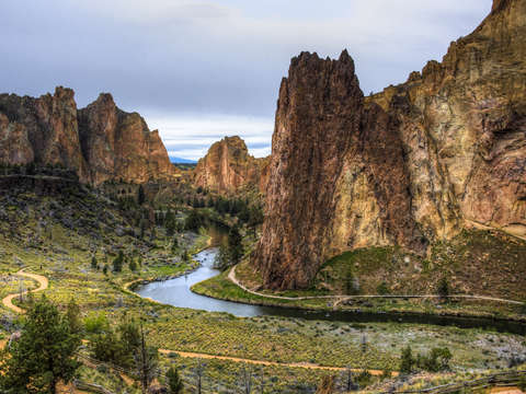 Smith rock bend oregon