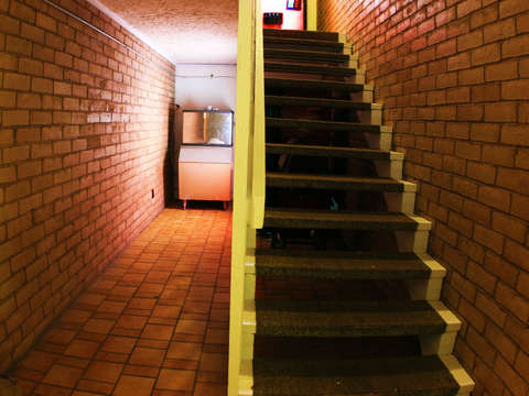 Motel staircase