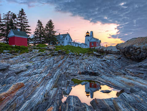Reflections of pemaquid point