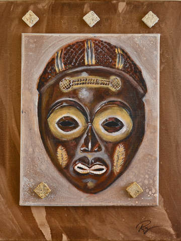 Zaire mask