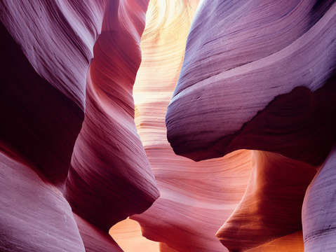 Antelope canyon dawn