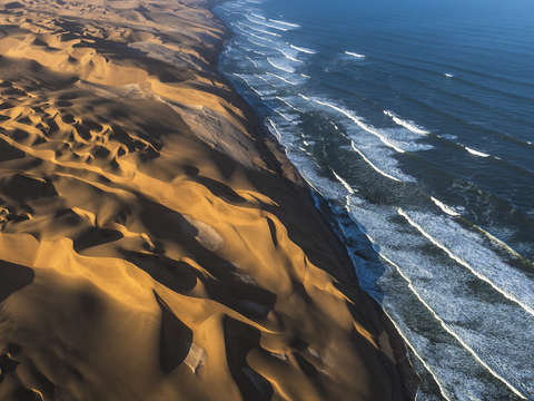 Waves and dunes