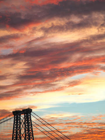 Sunsets over brooklyn