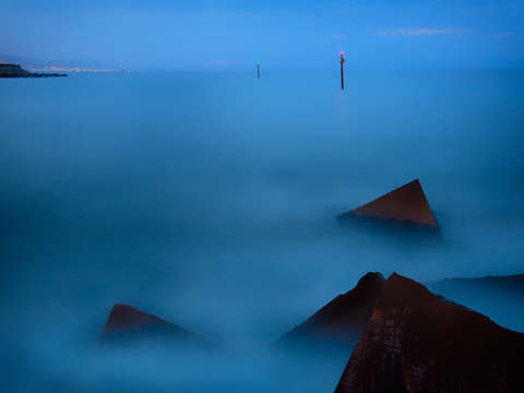 Misty sea 1 barcelona