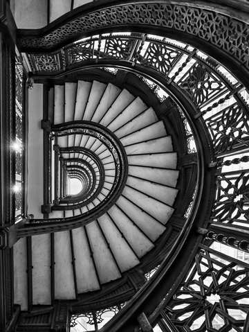 Rookery Stairs Perspective