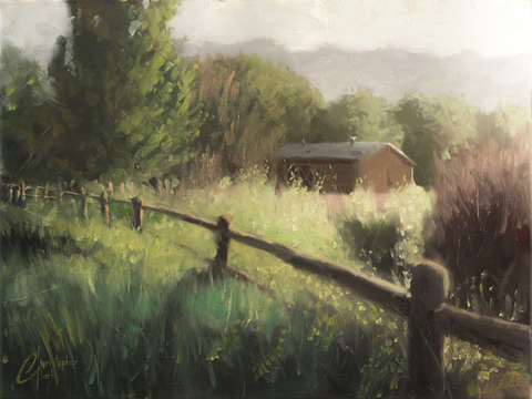 Farmhouse in the country