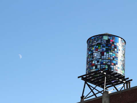 Moon watertower new york city
