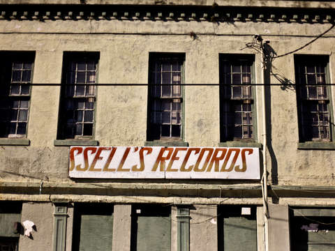 Russells records new orleans
