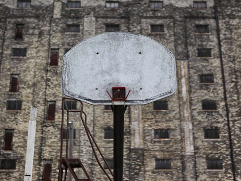 Basketball goal in milwaukee