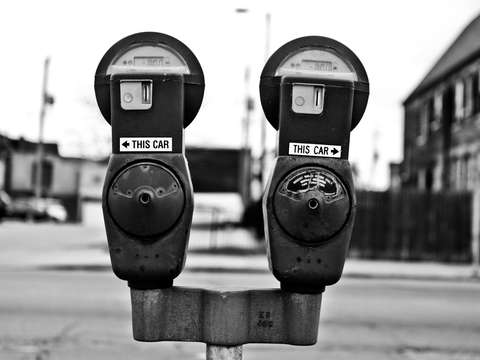 Parking meters in milwaukee