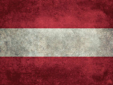Austrian national flag vintage version