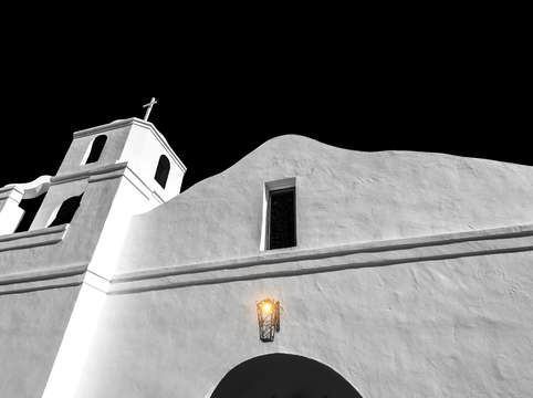 The old adobe mission