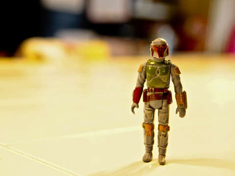 Boba fett toy