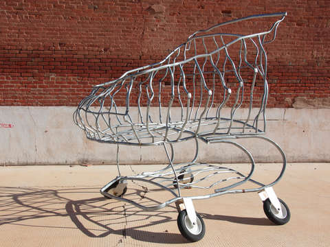 Shopping cart art