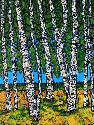 Chromatic birches