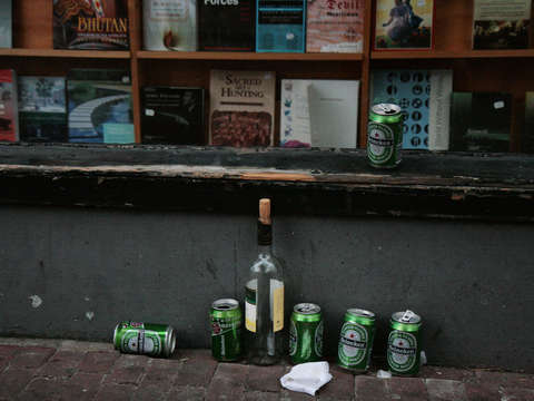 Empties in amsterdam