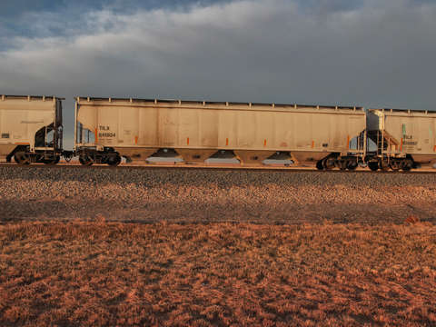 West texas train cars