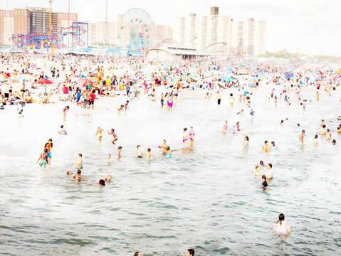 Coney island august