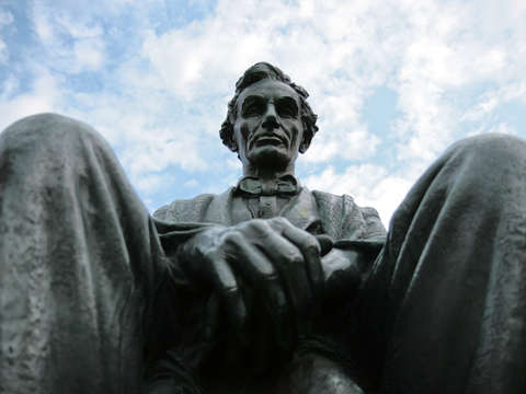 Abraham lincoln statue syracuse