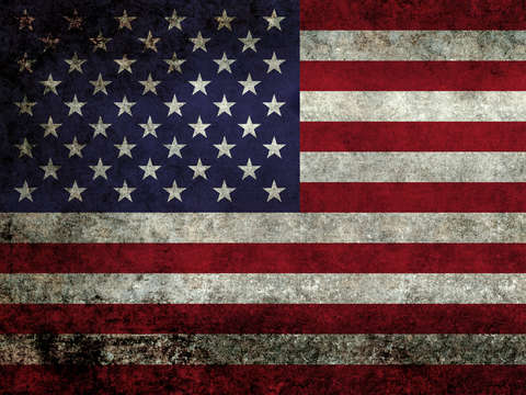 American flag super dark grunge