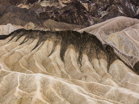 Zabriskie point area