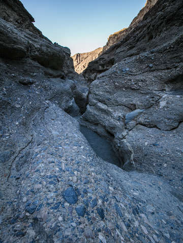 Mosaic canyon rocks