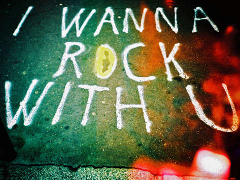 Wanna rock with you