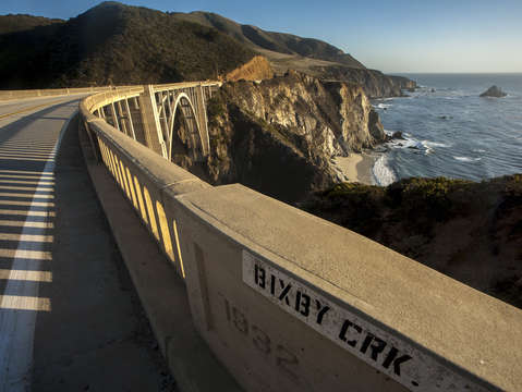 Bixby creek bridge big sur