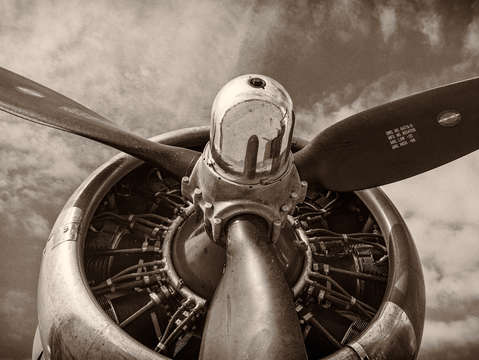 Vintage b 17 flying fortress