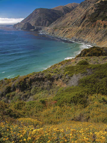 Highway 1 and the big sur coast