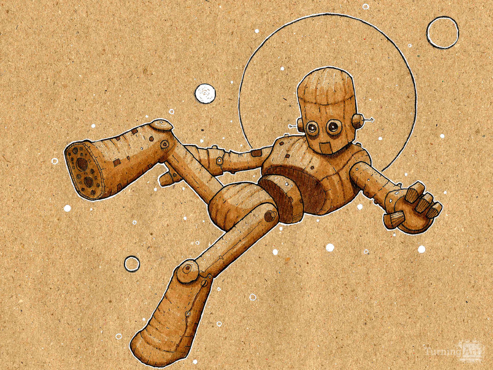 Floating robot i
