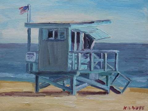 Lifeguard tower 4