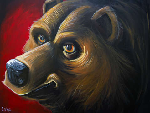 Grizzly red study