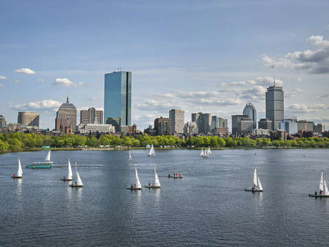 Boston skyline 3